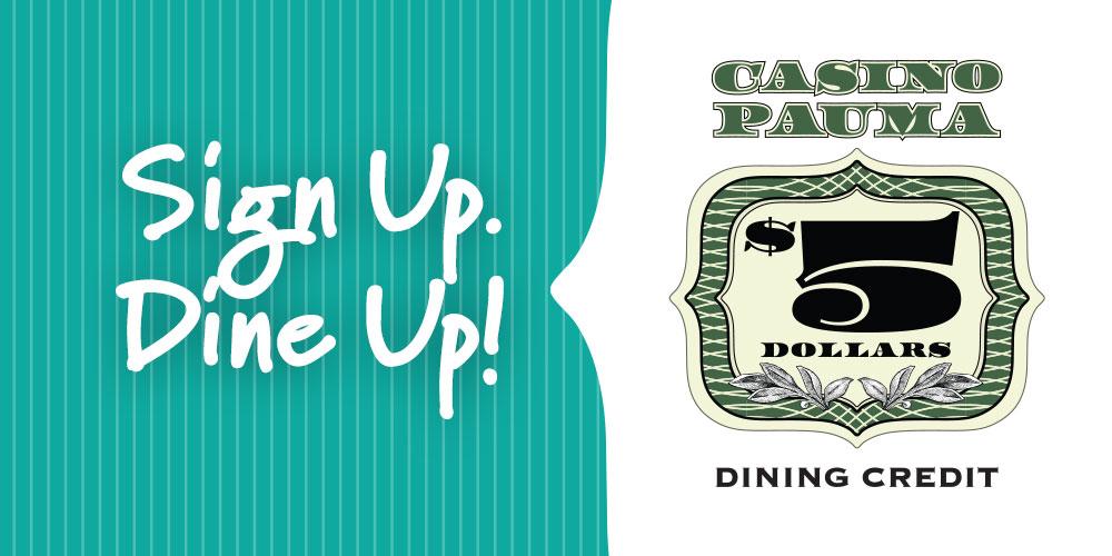 Sign Up. Dine Up!