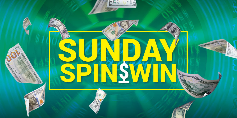 Spin & Win Sundays