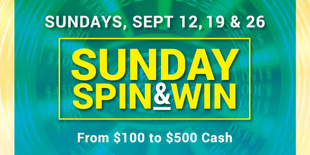 Sunday Spin and Win